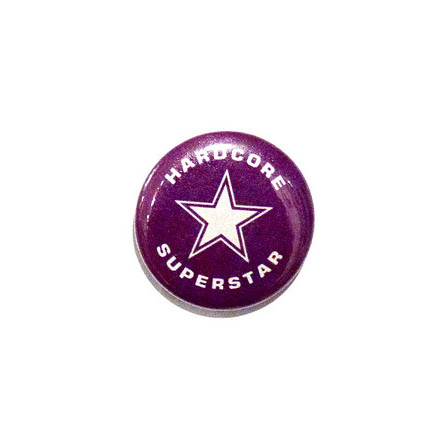 Hardcore Superstar - Lila - Badge