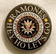 Ramones - Hey ho - Badge