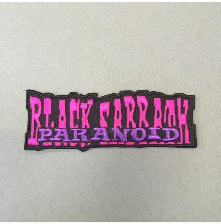 Black Sabbath - Paranoid - Tygmärke