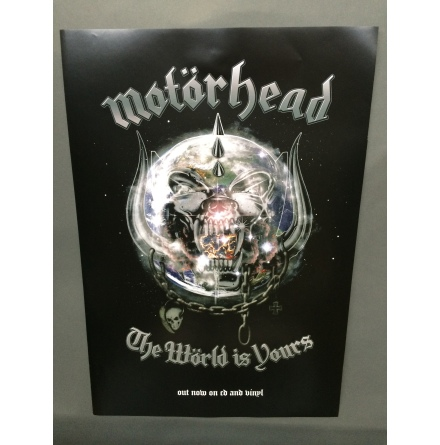 Motörhead - The Wörld is. Poster