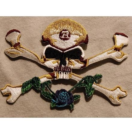 Alchemy - Skull & Crossbones - Tygmärke