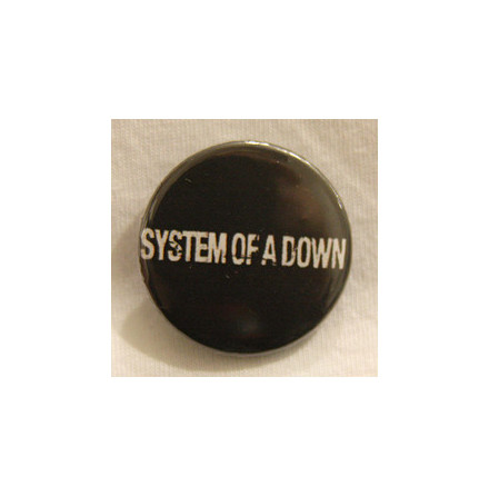 System of A Down - Logo - Badge