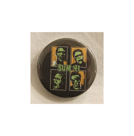 Sum 41 - Monster - Badge