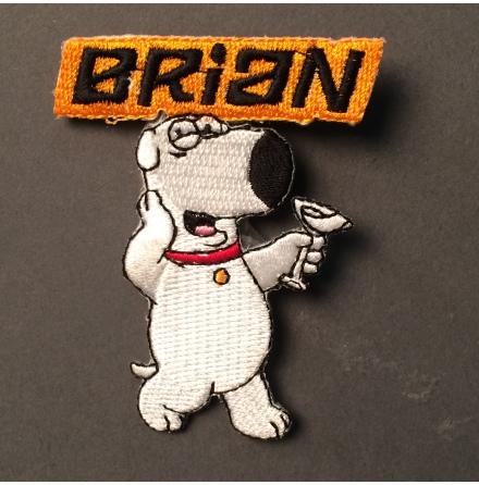 Family Guy - Brian Martini - Tygmärke