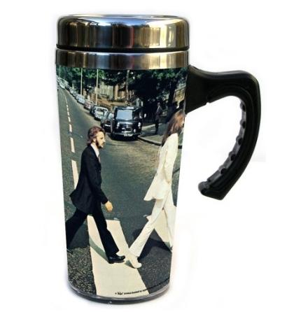 Beatles - Abbey Road - Travel Mugg
