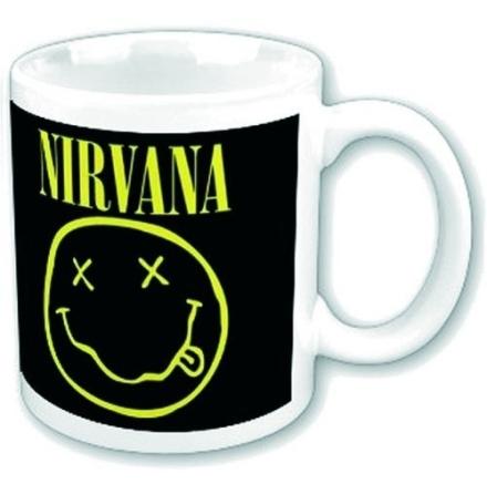 Nirvana - Smiley - Mugg