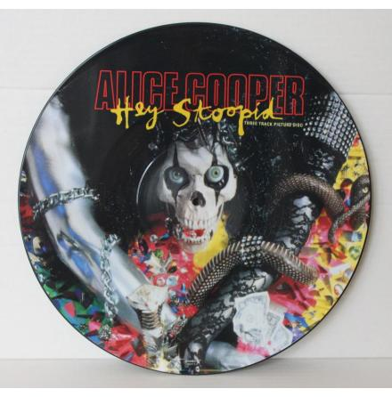 Alice Cooper - Hey Stoopid - Picture Disc Maxi
