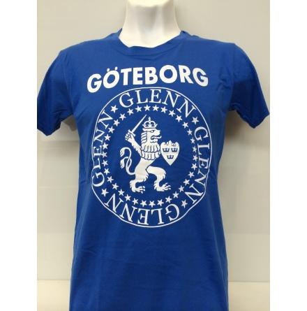 T-Shirt - Glenn Glenn Logo Blå