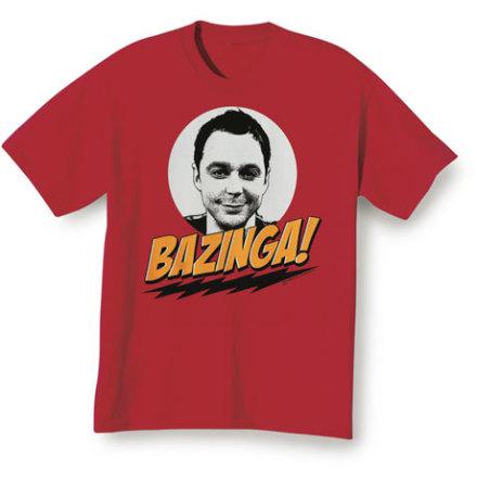 T-Shirt - Bazinga!
