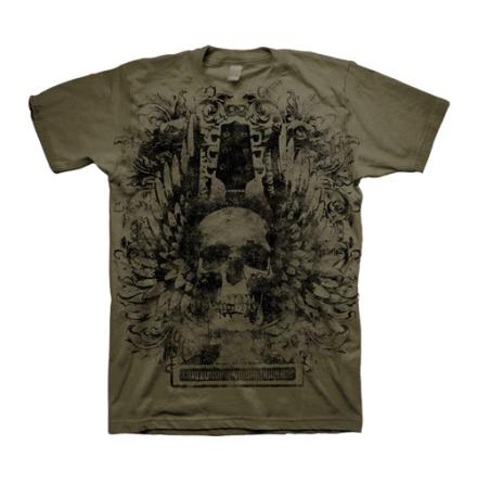 T-Shirt - Skull Wings