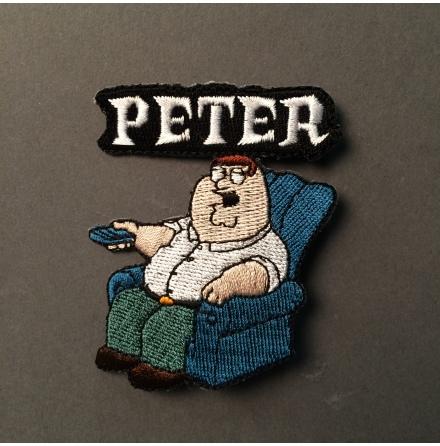 Family Guy - Peter - Tygmärke