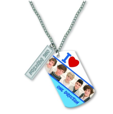 One Direction Tag Necklace