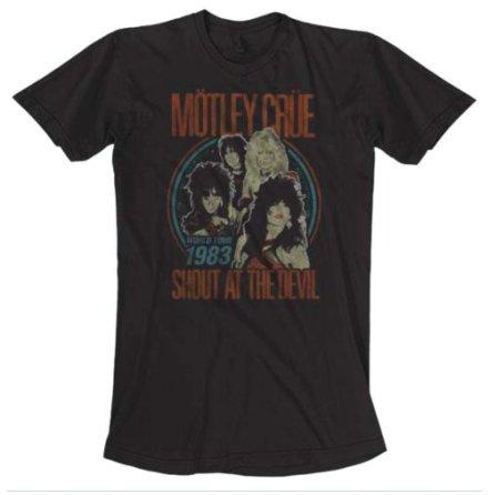 T-Shirt - World Tour Vintage Svart