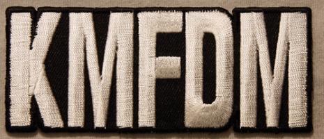KMFDM - Logo - Tygmärke