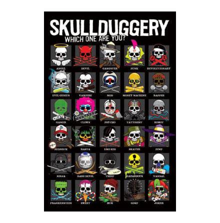 Skullduggery - Poster