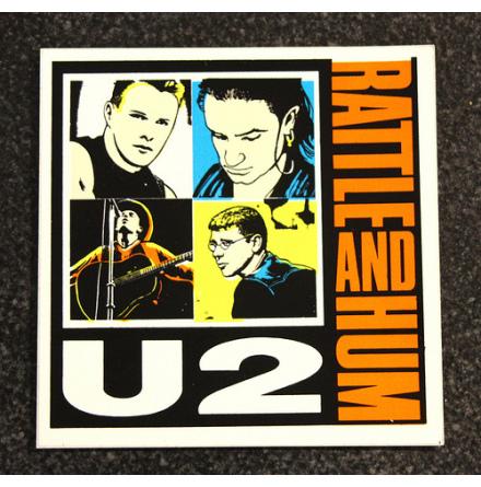 U2 - Rattle - Klistermärke