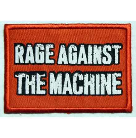 Rage Against The Machine - Red Logo Tygmärke