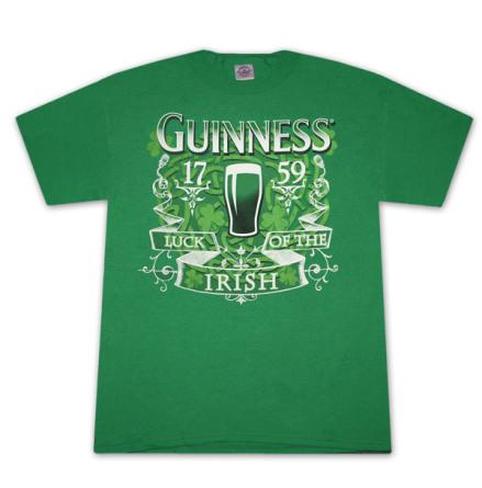 T-Shirt - Irish luck