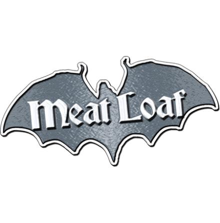 Meatloaf - Bat Logo - Pin