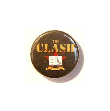 Clash - Militärgrön - Badge