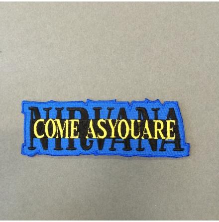 Nirvana - Come AsYouAre - Tygmärke