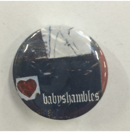 Babyshambles - Heart - Badge