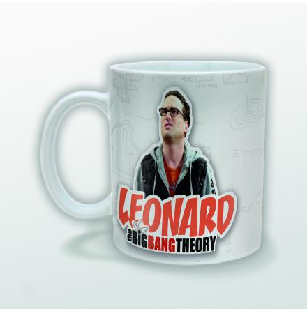 The Big Bang Theory - Leonard - Mugg