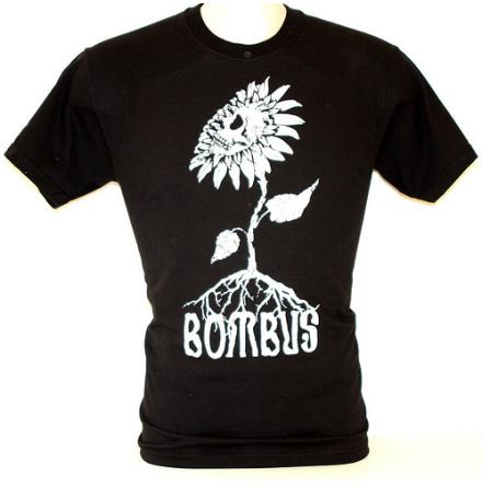 T-Shirt - Skullflower Svart