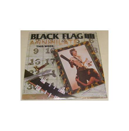 LP - Black Flag - Annihilate This Week