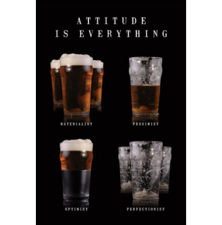 Attitude Is Everything - Poster