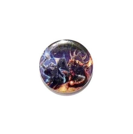 Hammerfall - Crimson - Badge