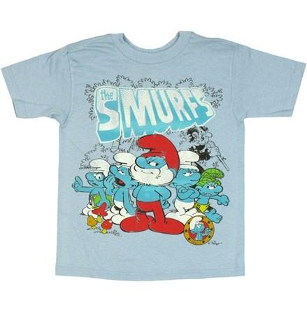 Barn T-Shirt - The Smurfs