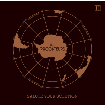 Vinyl Maxi - The Raconteurs - Salute Your Solution