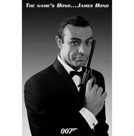 James Bond - The Names Bond - Poster