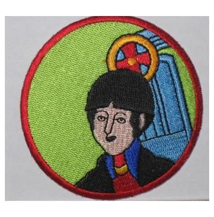 Beatles - Yellow Submarine Paul McCartney - Tygmärke