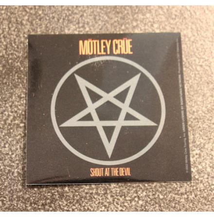 Mötley Crue - Shout At - Klistermärke