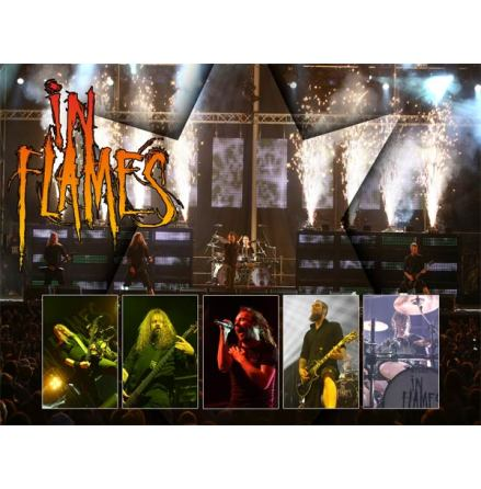 In Flames - Poster - Live