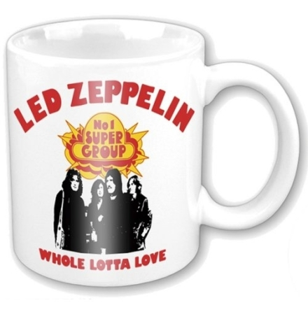 Led Zeppelin - Whole Lotta Love - Mugg