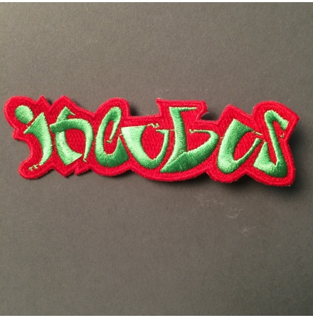 Incubus - Röd/Grön Logo - Tygmärke
