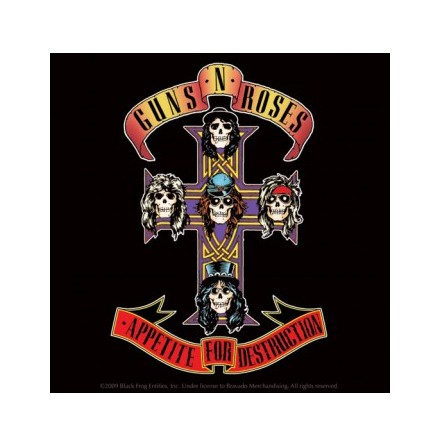 Guns N Roses - Single Coster Logo