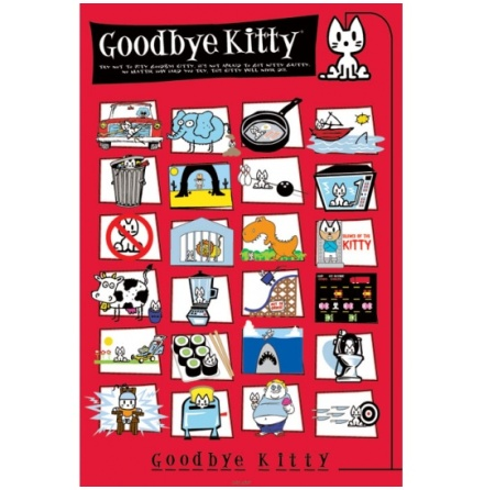 Poster-Goodbye Kitty