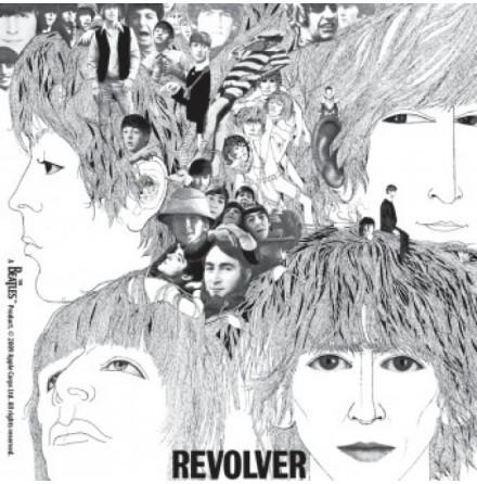 Beatles - Revolver Album - Single Coaster