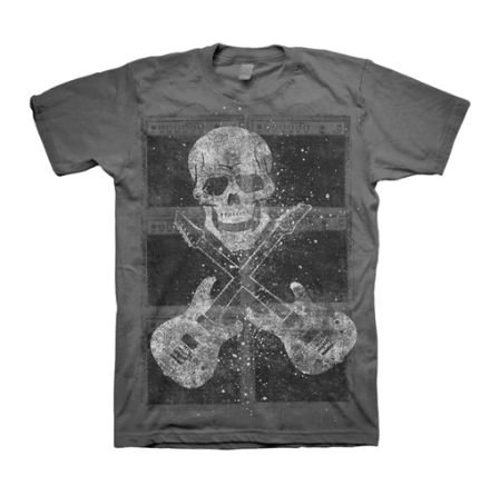 T-Shirt - Amps With Skull