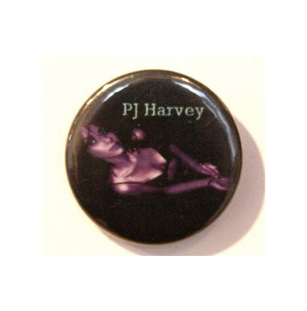 PJ Harvey - Purple - Badge