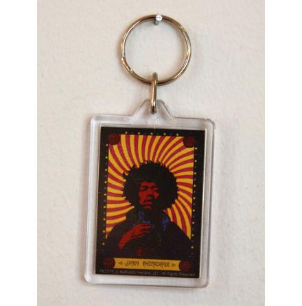 Jimi Hendrix - Nyckelring
