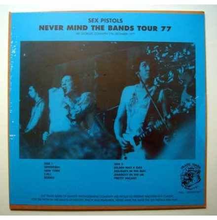 LP - Sex Pistols - Never Mind The Bands Tour 77