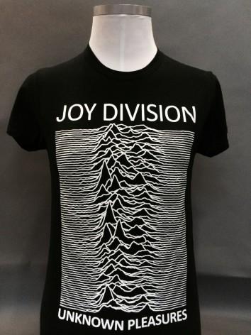 T-Shirt - Unknown Pleasures Svart