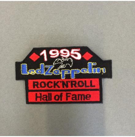 Led Zeppelin - Rock N Roll Hall of Fame - Tygmärke