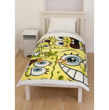 Spongebob - Heads - Fleece Blanket