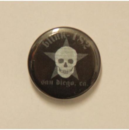 Badge -Blink-182 - Skull Badge